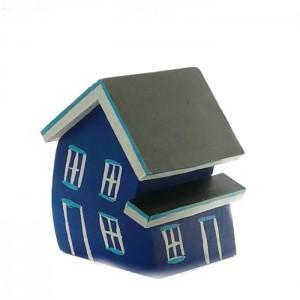 Maison croche (bleu-marine)