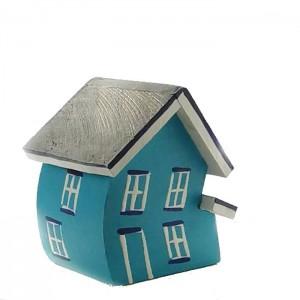 Maison  turquoise
