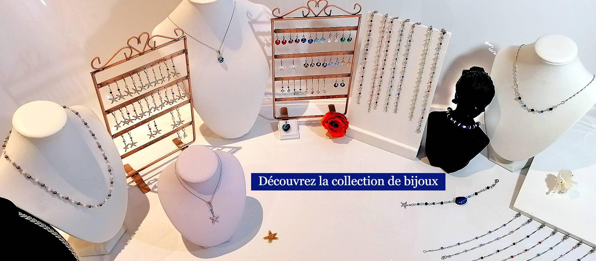 La collection de bijoux Carole Vigneau Arts & Artisanat